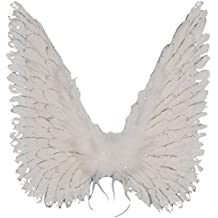 Loftus International Halloween Costume Accessory Large Angel Wings, One Size, White