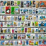 Collection de timbres France oblitérés Bandes Dessinees Nbre de timbres:25 timbres différents