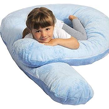 Amazon Com Moonlight Slumber Kids Comfort U Body Pillow