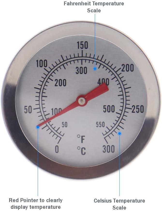 Termometro per Zucchero e marmellata con sonda da da 145 mm e Clip
