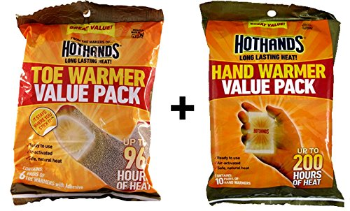 HotHands Hand & Toe Warmers Value Pack, Hot Multi Purpose Heat Packs