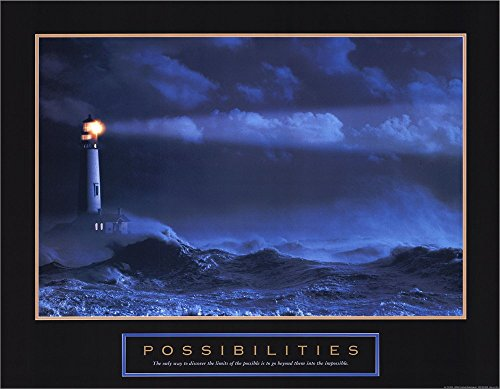 Possibilities-Lighthouse Double Sided Laminate, 28 x 22 inches
