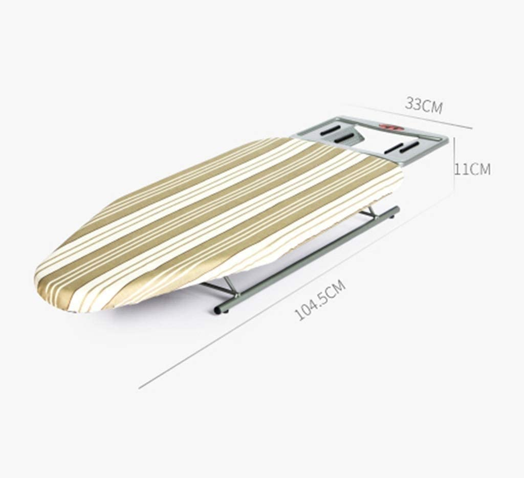woyaochudan Desktop Ironing Board-Home Bedroom Desktop Folding Ironing Board Small Metal Electric Iron Frame, 104.5times;33times;11CM (Color : A) A