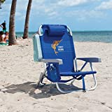 Rio Tommy Bahama Backpack Chair Blue with Sailfish