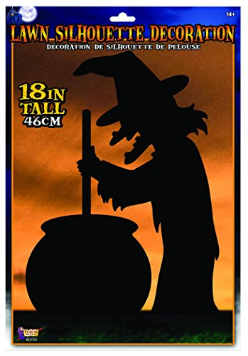 - Forum Novelties 80733 Witch Silhouette Lawn Dec. Décor, One Size (Pack of 12)