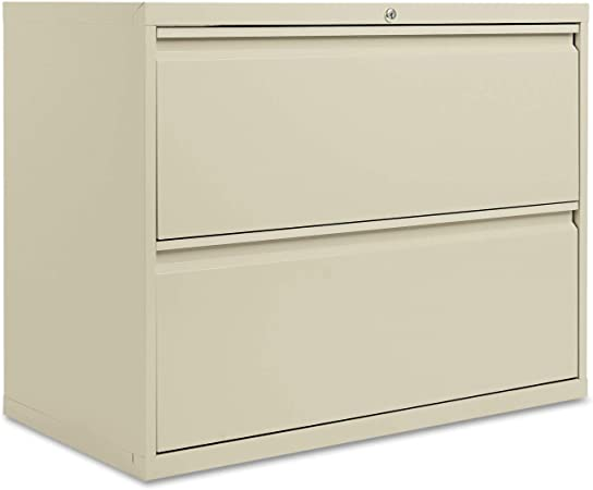 Alera 2 Drawer Lateral File Cabinet 36 Inch By 19 1 4 Inch By 29 Inch Putty Furniture Decor