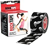 RockTape Kinesiology Tape for Athletes - 2-Inch x 16.4-Feet (Skull) offers