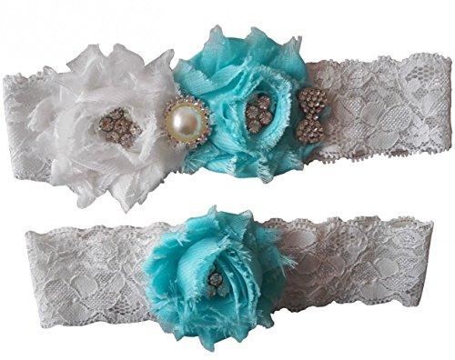 Mirandas Bridal Garters Wedding Rhinestone product image