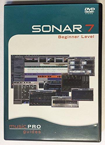 Sonar Video Tutorials - Sonar 7 Beginner Level - Music Pro Guides - DVD