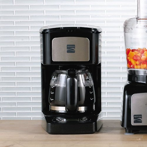 Kenmore 5-cup Black Digital Coffee Maker - Gourmet Coffee & Equipment
