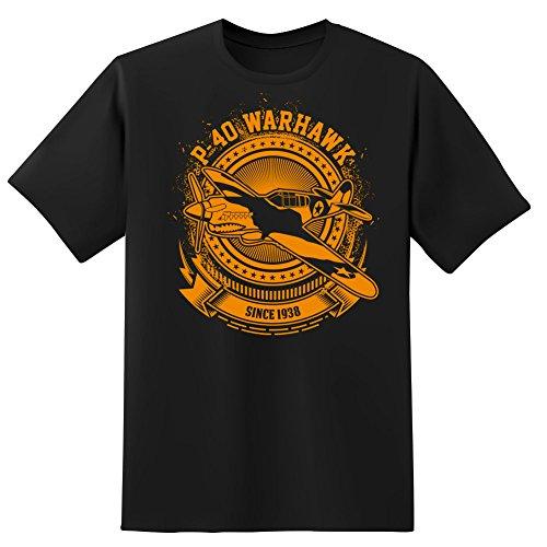 Future of Flight P-40 Warhawk Men's T-Shirt-Medium P-40 Warhawk Flight