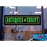 Antiques and Thrift LED Light up Sign