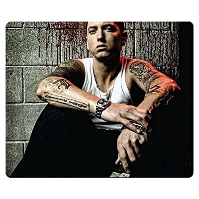 26x21cm 10x8inch Mouse Mats precise cloth - antislip rubber long-lasting mouse movement Eminem