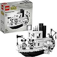 LEGO Ideas 21317 Disney Steamboat Willie Building Kit