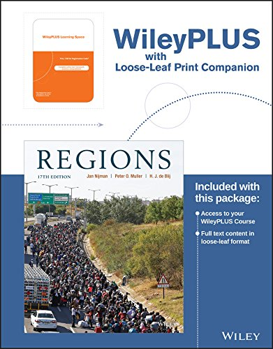Geography: Realms, Regions, and Concepts, 17e WileyPLUS Learning Space Registration Card + Loose-leaf Print Companion (Geography Realms Regions And Concepts 17th Edition)