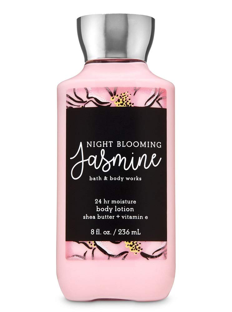 Bath and Body Works Night Blooming Jasmine Lotion 8 Ounce 2019