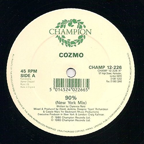 Price comparison product image 90% / Vinyl Maxi Single [Vinyl 12'']