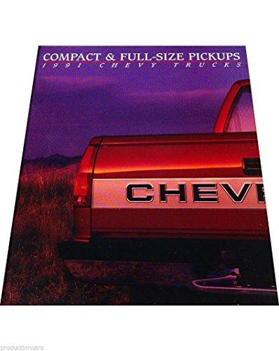 1991 Chevrolet Trucks 68-page Sales Brochure Catalog - Silverado 454SS S-10 C/K Baja