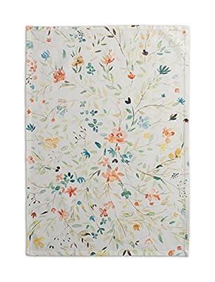 Maison d' Hermine Colmar 100% Cotton Set of 2 Kitchen Towels, 20 - inch by 27.5 - inch.