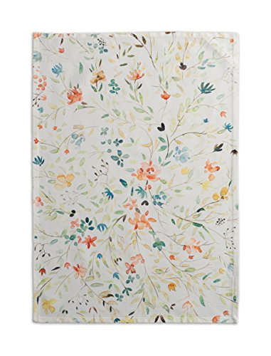 (Maison d' Hermine Colmar 100% Cotton Set of 2 Kitchen Towels, 20 - inch by 27.5 - inch.)