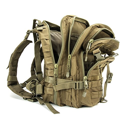 428d4418ac2b XWLSPORT Military Tactical Backpack Army Small 3 Day Assault Pack Military  Sport Camping Hiking Trekking Bag School Travel Gym Carrier (O.D. Green)