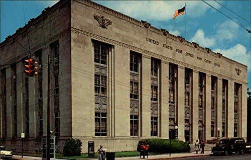 - United States Post Office Monroe, Louisiana Original Vintage Postcard