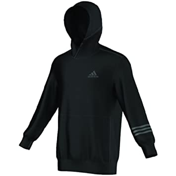 Ball Adidas Pull L Gris Pour Menace Solid Basket Double Black Homme vONy0m8nw