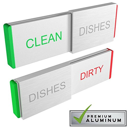 Dishwasher Magnet Clean Dirty Sign - Premium Kitchen