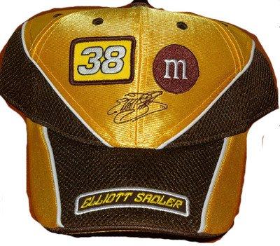 NASCAR Elliott Sadler #38 M&M's Adult Vintage Velcro Back Cap Hat from Chase Authentic