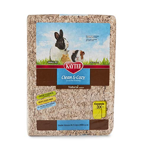 (Kaytee Clean & Cozy Natural Small Animal Bedding, 55L)
