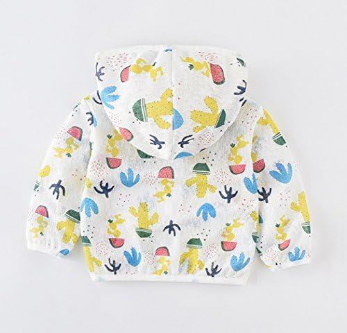 La Vogue Unisex Kids Sun Protection Clothing Cactus Print Cute UV Sunscreen