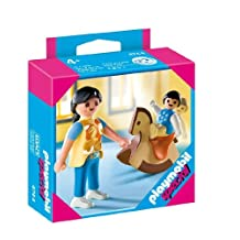 Playmobil 4744 Special: Mother with Baby & Rocking Horse