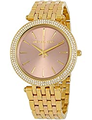 Michael Kors Womens Darci Gold-Tone Watch MK3507