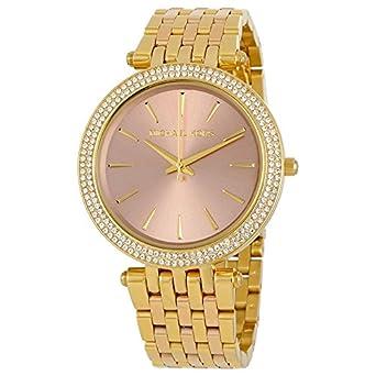 Michael Kors Reloj Analógico para Mujer de Cuarzo con Correa en Acero Inoxidable MK3507: Michael Kors: Amazon.es: Relojes