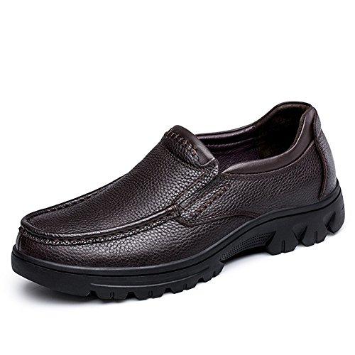 Conducción de para Zapatos Un de Mocasines Caminar Cuero los Zapatos y Zapatos para de y Carrera Cómodos Hombres Oficina qU68EUzv
