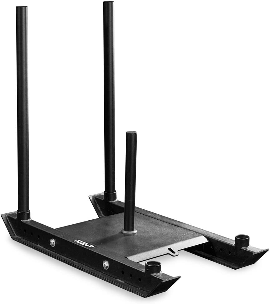 amazon com sleds \u0026 chutes training equipment sports \u0026 outdoorsrep weight sleds for conditioning, cross training, and football power sled and adjustable