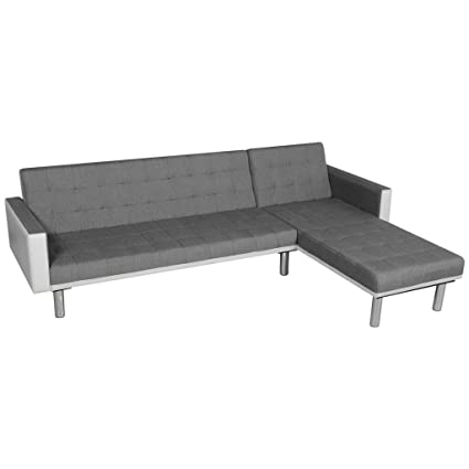 Amazon.com: Futon Fabric Upholstery Sofa Bed Convertible ...