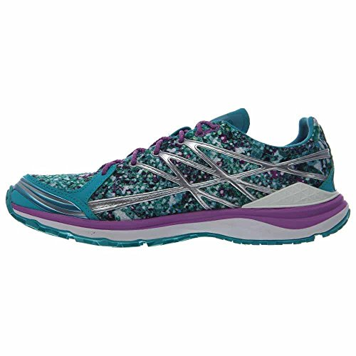 La Scarpa Da Trail Running Ultra Nord Del North Face - Womens Bluebird / Sweet Violet Graphic