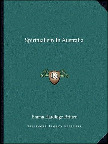 Book Spiritualism in Australia