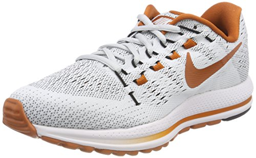 Nike Ladies W Air Zoom Vomero 12 Tb Scarpe Da Corsa Grigie (board Pure / Noir / Orange Du Désert)