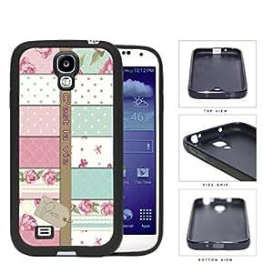 Paris C'est La Vie Variety Wallpaper Rubber Silicone TPU Cell Phone Case Samsung Galaxy S4 SIV I9500