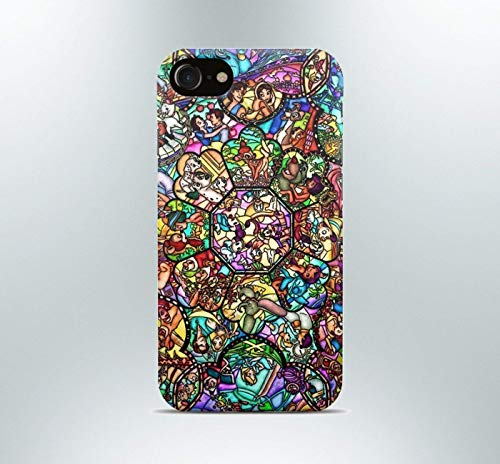 Inspired by Disney princess Phone case iPhone 7 plus X XR XS Max 8 6 6s 5 5s se Samsung galaxy s8 s7 edge s6 s5 s4 note 9 8 art print cover characters love collage tv