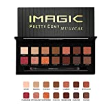 Eyeshadow Palette 14 Colors Eye Shadow Powder Make Up Waterproof Eye Shadow Palette Cosmetics by Pretty comy
