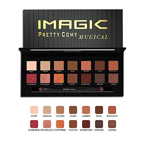 Eyeshadow Palette 14 Colors Eye Shadow Powder Make Up Waterp