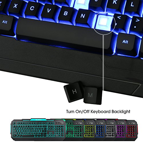 tec bean 7 colors led backlit gaming keyboard usb wired 9165624e05e194a1dcb3d75a694d02db. Black Bedroom Furniture Sets. Home Design Ideas