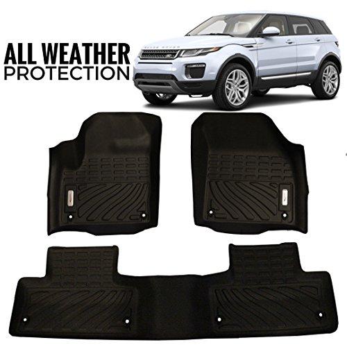 Compare Price Range Rover Evoque Floor Mats On