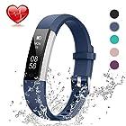 Lintelek Fitness Tracker, Slim Activity Tracker with Heart Rate Monitor, IP67 Waterproof Wristb