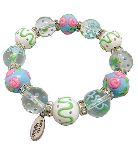 sister-glass-bead-stretch-bracelet