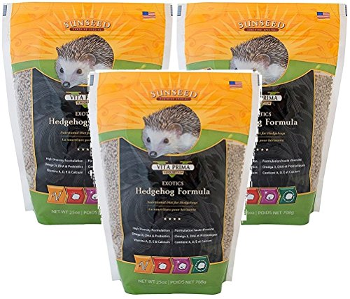 Picture of Sun Seed Company Vita Exotics Hedgehog Formula 25oz (Pack of 3)