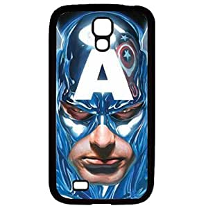 S4 case ,Samsung Galaxy S4 case ,fashion durable Black side design for Samsung Galaxy S4,Rubber material phone cover ,Designed Specially Pattern with Captain America. by runtopwell